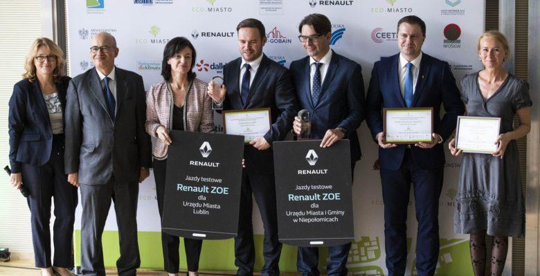 ECO-MIASTO-2018 nagrodzeni i wyróżnieni w kategorii mobilność zrównoważona, źródło: www.eco-miasto.pl